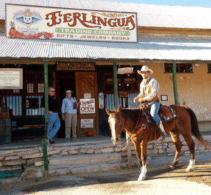 The Ghost Town In Terlingua Texas Is Home Of Bend Holiday Hotel Trading Company And Starlight Theatre Restaurant Bar